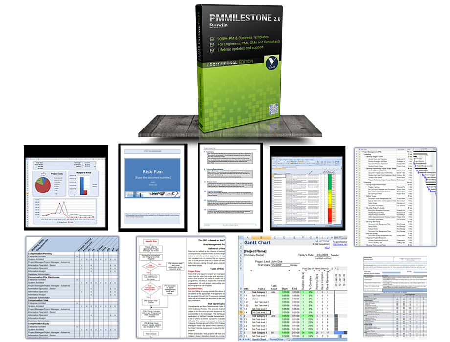 Project Management And Business Templates